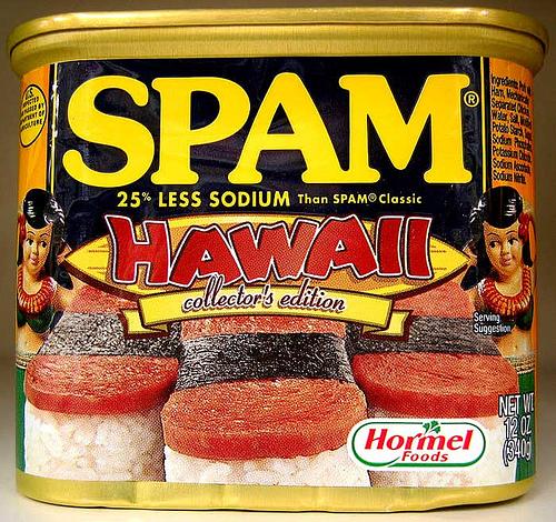 Почтовый спам в Интернете