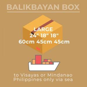 Sea Large Visayas Mindanao